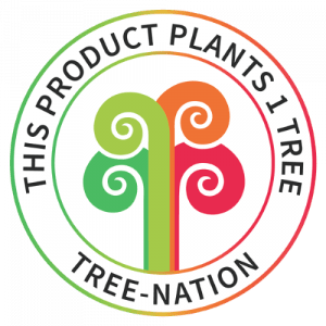 This product plants one tree, tree nation
