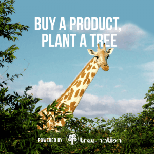 Buy a product, plant a tree, tree nation