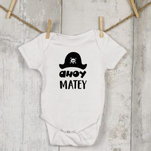 Tiny, Baby Ahoy Matey Vest