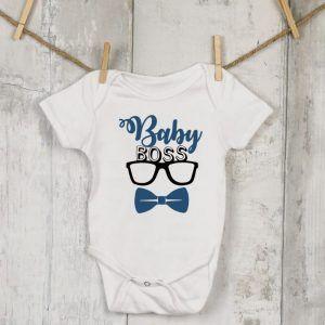 Baby Boss Glasses Vest