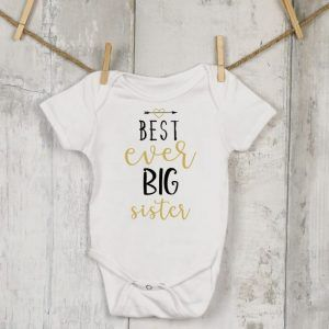 Best Ever Big Sister Vest