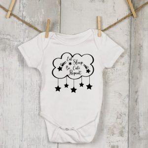 Eat Sleep Cloud Vest