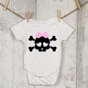 Tiny, Baby Girl Skull Vest